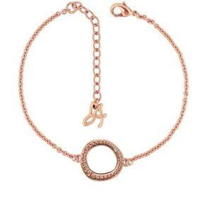 Adore Organic Circle Bracelet Rose Gold HOST PICK